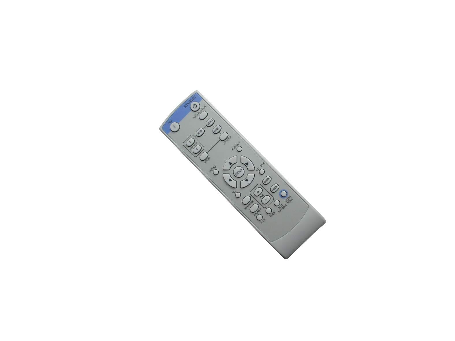 HCDZ Replacement Remote Control for Mitsubishi FD630U FD630U-G FD630UG 1080P Conference Room DLP Projector