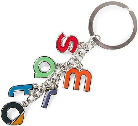 Racefoxx Schlüsselanhänger Anhänger Schlüssel Autoschlüssel Buchstaben Autoanhänger Logo Für Smart Fahrer Auto