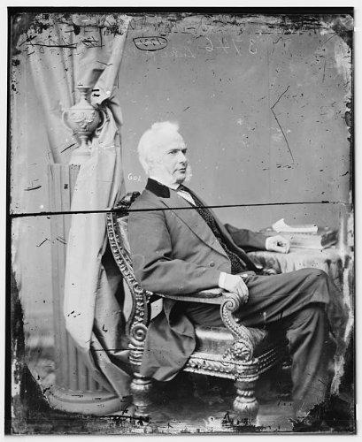 Photo: Honorable Luke Potter Poland,Vermont,politicians,portrait - Sunglasses 1860