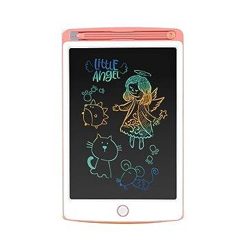 NOBES Tableta de Escritura Colorido LCD 9.7 Inch, Tablero de Dibujo de gráficos, Pizarra magnética del Mensaje,Memo Pad Electrónico con Lápiz Táctil ...