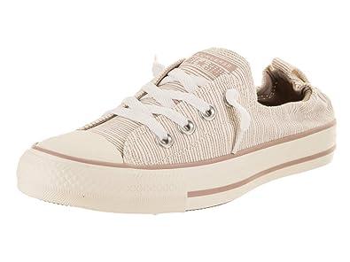 abdea5ce8cc27 Converse Women s Chuck Taylor Shoreline Slip Diffused Taupe Egret Egret Slip-On  Shoe