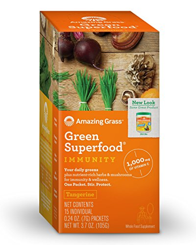 Amazing Grass Superfood Tangerine Individual