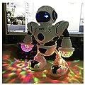UpBeauty Toddler Multifunctional LED Smart Robot Dance Music Kids Education Toys Robotics