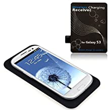 ABC® Qi Wireless Charger Charging Pad + Receiver Kit for Samsung Galaxy S3 III i9300