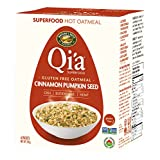 Nature's Path Organic Hot Cereal Qi'a Pure Oats Oatmeal Cinnamon Pumpkin Seed, 228g