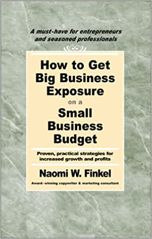 amazon how to get big business exposure on a small business budget