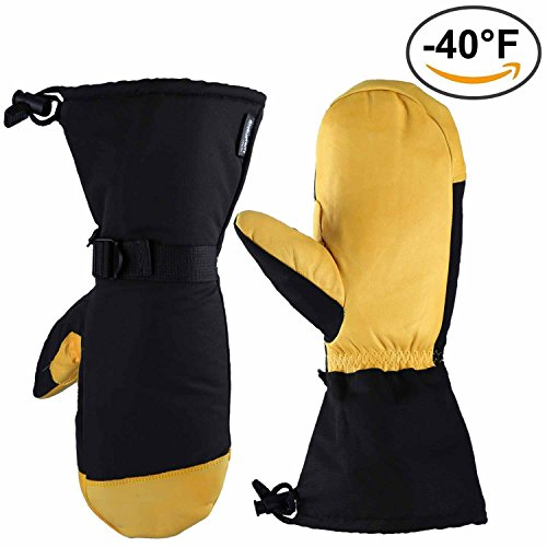 ozero-ski-mittens-40f-cold-proof-winter-mitten-with-separated-inner-fingers-150g-3m-thinsulate-insul