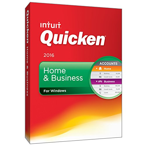 Quicken Home & Business 2016 Personal Finance & Budgeting Software [Old Version] (Accounting Software compare prices)