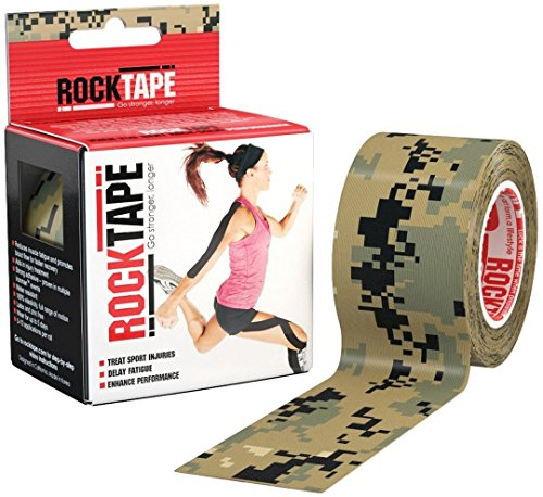 RockTape Kinesiology Tape for Athletes - 2 Inch x 16.4 Feet (Camouflage)