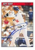 Jeff Kent autographed baseball card (Los Angeles Dodgers) 2006 Topps Bazooka #159