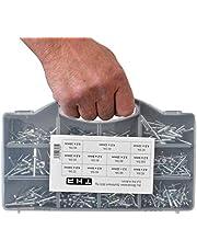 Blindklinknagels assortiment 3,2 4,0 4,8 mm Alu Set Pop klinknagels 600-delig