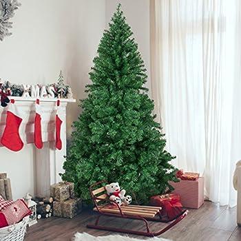 Amazon.com: Perfect Holiday Christmas Tree, 6-Feet, PVC Crystal ...