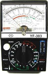 Cablematic - Multímetro analógico modelo YF-303