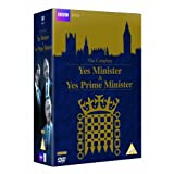 Yes Minister and Yes Prime Minister - Complete Collection [DVD] [1980] by Paul Eddington