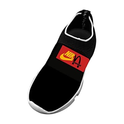 LUCCM Funny Childrens Sports Shoes Unique Footwear Fly Knit Shoes EVA Fashion Sneaker For Boy/Girl/Kid