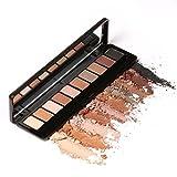 Ten Colors Eye Shadow Makeup Shimmer Matte Eyeshadow Earth Color Eyeshadow Palette Cosmetic Makeup Nude Eye Shadow
