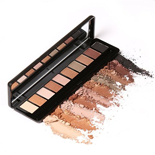Ten Colors Eye Shadow Makeup Shimmer Matte Eyeshadow Earth Color Eyeshadow Palette Cosmetic Makeup Nude Eye Shadow