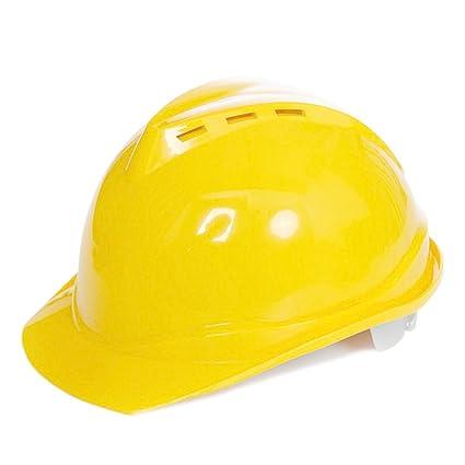 Casco de seguridad de construcción rígida para el trabajo al aire libre, cabeza de trabajador