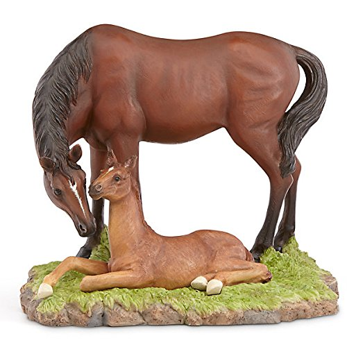 (Lenox Peaceful Moment Mother & Foal Horse Figurine by)