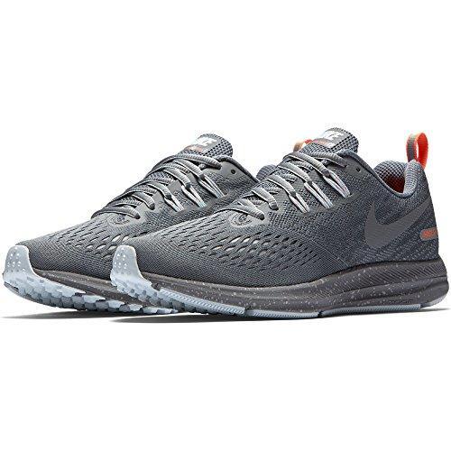Winflo 4 Grey Cool Running Air Grey Zoom Shield Shoe Cool Women's Grey wolf NIKE Metallic tT4qwBW