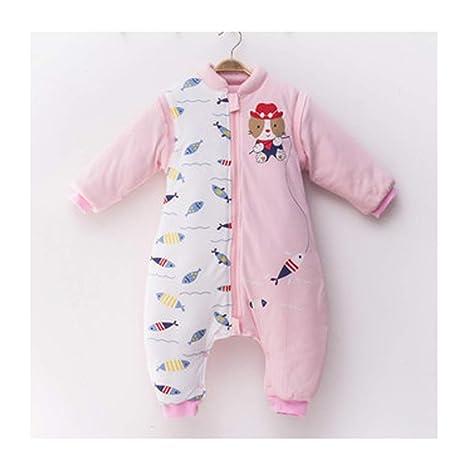 Saco de dormir xiuyun algodón para bebés Grueso de Invierno para el bebé Anti-Kick