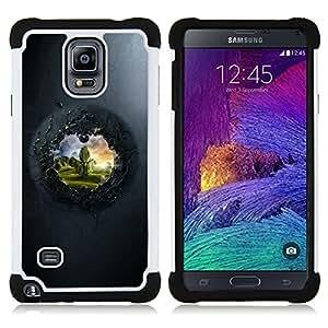 For Samsung Galaxy Note 4 SM-N910 N910 - View To The Other Side Dual Layer caso de Shell HUELGA Impacto pata de cabra con im??genes gr??ficas Steam - Funny Shop -