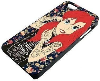 Tatuaje Ariel Sirenita Tatuaje con Flores Funda para iPhone 5 C ...
