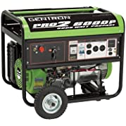 All Power America Propane Generator with Electric Start - 6000 Surge Watts, 5000 Rated Watts, CARB-Compliant,...