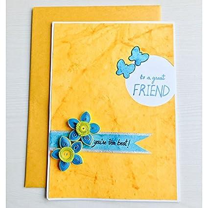 Bonitahub Handmade Celebrate Friendship Card 21 X 15 X 0 5 Cm