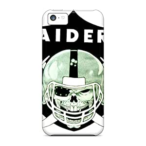 New Style Tpu 5c Protective Case Cover/ Iphone Case - Oakland Raiders