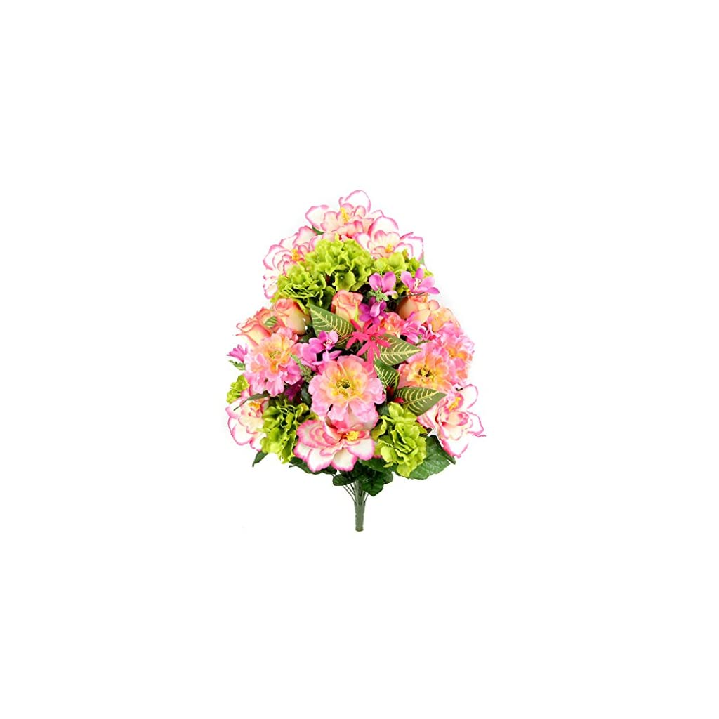 Admired-by-Nature-Artificial-Hibiscus-with-Rosebud-Freesias-Fillers-Flower-Mixed-Bush-for-Home-Office-Restaurant-Wedding-Arrangement-36-Stems