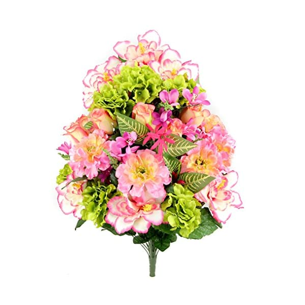 Admired-By-Nature-Artificial-Hibiscus-with-Rosebud-Freesias-Fillers-Flower-Mixed-Bush-36-Stems-for-Mothers-Day-or-Decoration-for-Home-Restaurant-Office-Wedding-Bouquet
