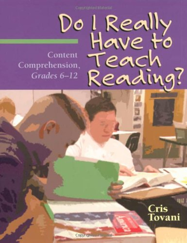 Do I Really Have to Teach Reading?: Content Comprehension, Grades - Strategy Comprehension Instruction