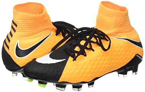 Scarpe Nike Phatal white laser Fg Df Iii white Hypervenom black Calcio Orange Da volt Uomo Arancione rXqwUxr5