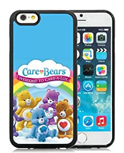 Popular iPhone 6 6S Cover Case ,Unique And Fashionable Designed With Care Bears Black iPhone 6 6S Cover Good Quality Phone Case