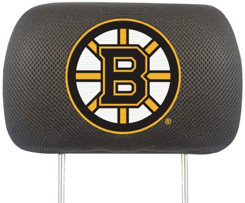FANMATS NHL Boston Bruins Polyester Head Rest Cover by Fanmats
