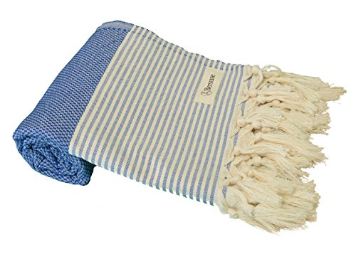 Bersuse-100-Cotton-Honeycomb-Pestemal-Peshtemal-Turkish-Bath-Towel-Beach-Fouta-37-x-70-Inches