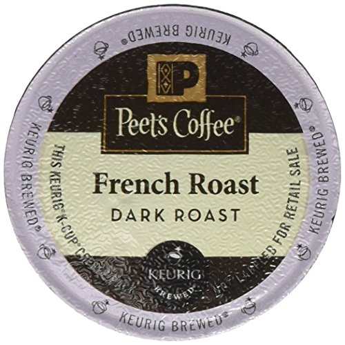 Peet's French Roast 120 Single K-Cups (Peets French Roast Coffee K Cups compare prices)