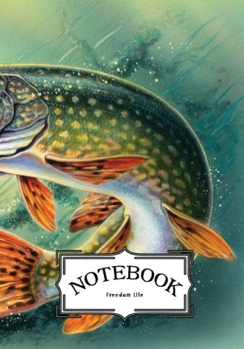"""Notebook : Fish Painting: Notebook Journal Diary, 120 Lined Pages, 7"""" X 10"""""""