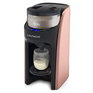 New and Improved Baby Brezza Formula Pro Advanced Formula Dispenser Machine - Automatically Mix a Warm Formula Bottle Instantly - Easily Make Bottle with Automatic Powder Blending, Rose Gold