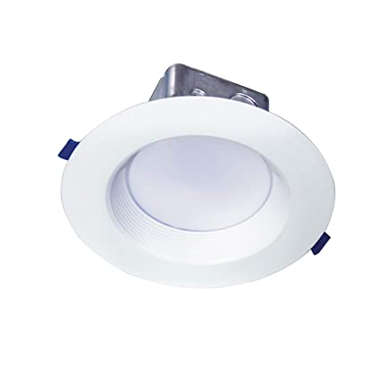 watch 12352 e7f8d OSTWIN 6 Inch LED Recessed Ceiling Light Fixture, Dimmable, Downlighter  Junction Box, IC Rated, 15W (100 Watt Replacement) 3000K (Warm Light),  975Lm, ...