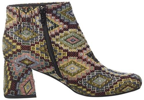 Jeffrey Campbell Nova Fab, Botines para Mujer Multicolor (Brown Gold)