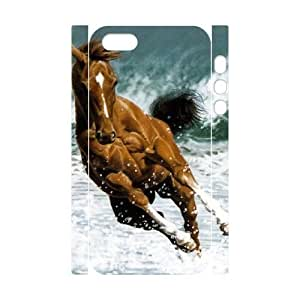 EZCASE Horse Phone Case For iPhone 5,5S [Pattern-1]