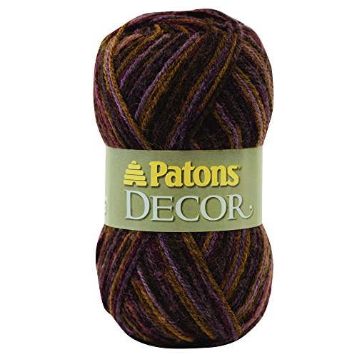 Patons  Decor Yarn - (4) Medium Worsted Gauge  - 3.5oz -  Tapestry  -   For Crochet, Knitting & Crafting by Patons (Image #4)