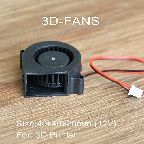 10Pcs//lot Turbo Fan Blower Cooling Fan 4020 12V 40mm x 40mm x 20mm for 3D Printer