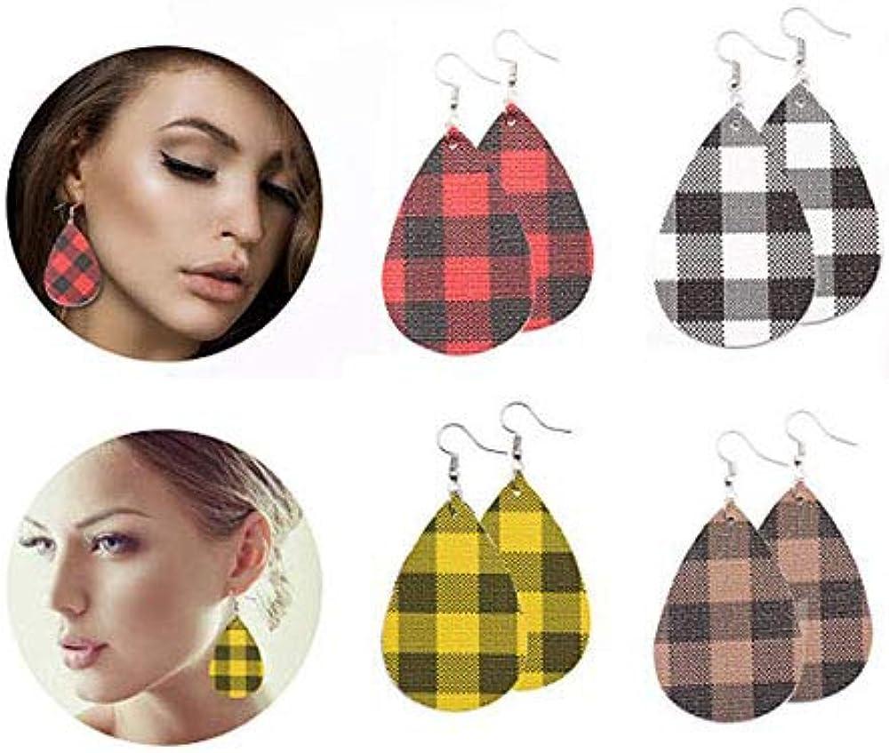 Leather Earrings...