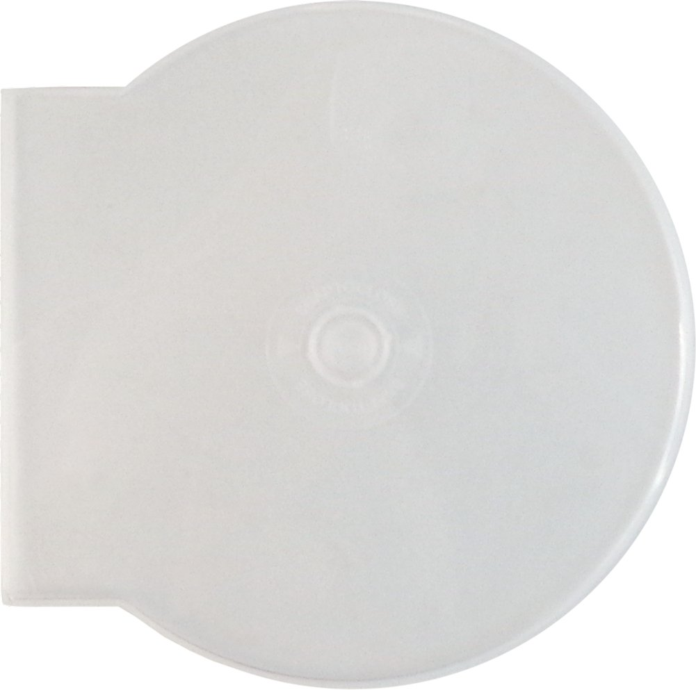 SquareDealOnline - CDBP42CSCL - CD Jewel Cases - Clam Shell - 4.2mm - Single Disc - Clear (100-Pack)