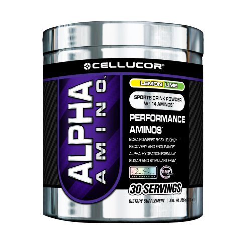Cellucor Alpha Amino, 30 portions, Citron Citron vert