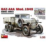 GAZ-AAA. Mod. 1943 Cargo Truck (1:35)