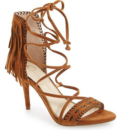 Brown Mareya Simpson Spice Sandal Women's Jessica Dress 6Y0Aqanw